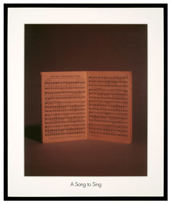 Image of a song book from And 22 Million Very Tired and Very Angry People