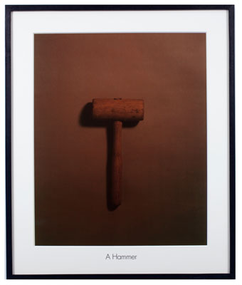 Image of a hammer from And 22 Million Very Tired and Very Angry People
