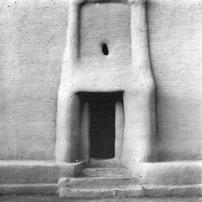 Image from the Africa series of a doorway