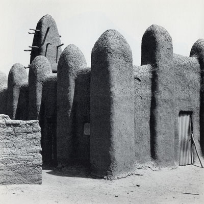 Image from the Africa series of a building