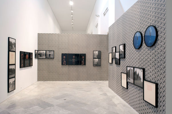 Installation view of the Africa series at          Center for Contemporary Art, Seville, Spain, 2010