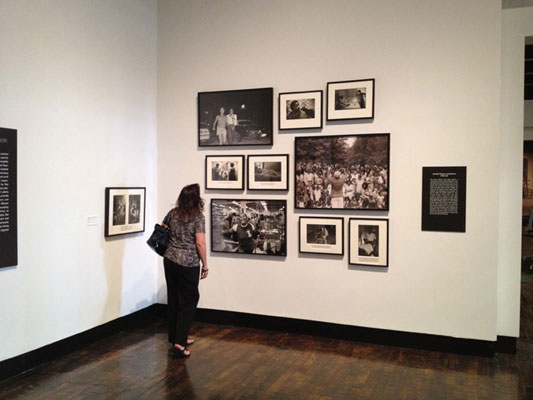 Installation         view of the Family Pictures series at the Frist Center for the Visual Arts, Nashville, 2012