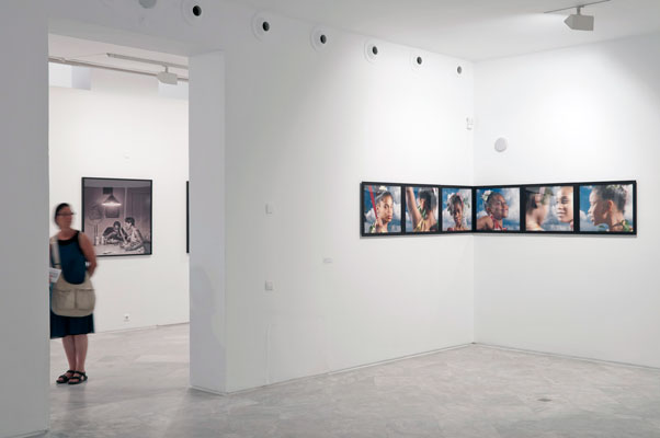 Installation          view of the series Mayflowers Long Forgotten