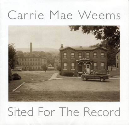 Cover of the Sited for the Record catalog