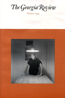 Cover of the Georgia         Review journal with image from Kitchen Table Series by Carrie Mae Weems