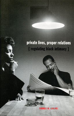 Cover of the book          Private Lives, Proper Relations with image from Kitchen Table Series by Carrie Mae Weems