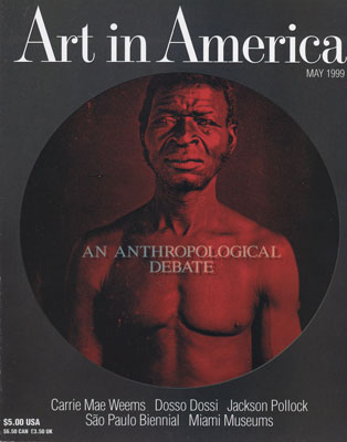 Cover of Art in America