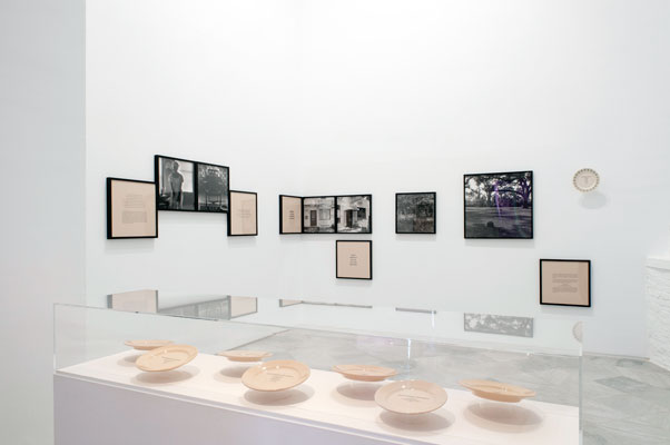 Installation view of the          Sea Islands Series at the Center for Contemporary Art, Seville, Spain, 2010